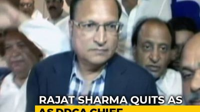 Rajat Sharma Resigns As Chief Of Delhi Cricket Body DDCA