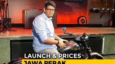 Jawa Perak Launch & Prices