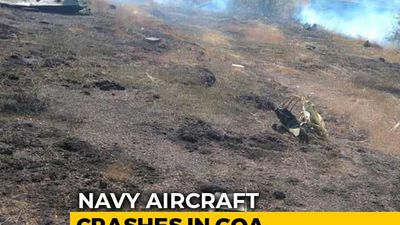 Navy's MiG Trainer Aircraft Crashes In Goa, Pilots Eject