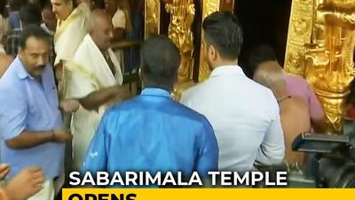 Sabarimala Temple Opens Amid Row Over Women Of All Ages Visiting Shrine