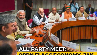 At All-Party Meet, Opposition Flags Economy, Detentions In Kashmir