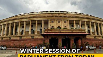 Economy In Focus As Winter Session Of Parliament Starts Today