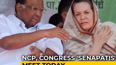 Eyes On Maharashtra, NCP's Sharad Pawar, Sonia Gandhi To Meet Today
