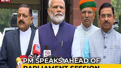 """Want Frank Discussions On All Matters"": PM Ahead Of Parliament Session"