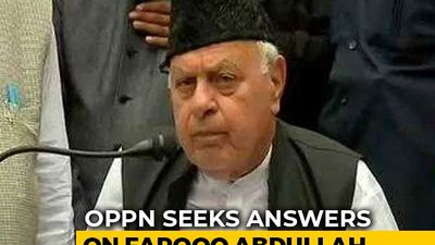 """Where's Farooq Abdullah?"" United Opposition Sets Tone For Parliament Session"