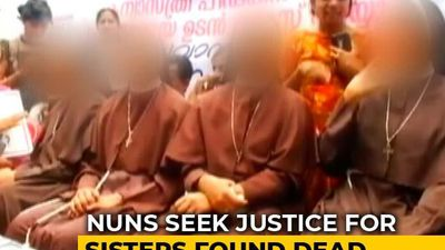 5 Kerala Nuns Join Protest Demanding Justice For 2 Sisters Found Hanging