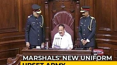 "Rajya Sabha Marshals' New Uniform To Be ""Revisited"" After Bad Reviews"