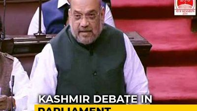 Kashmir Situation Normal, Says Amit Shah In Parliament