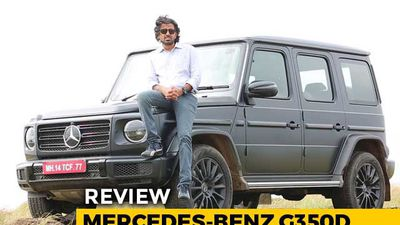 Mercedes-Benz G350d Review