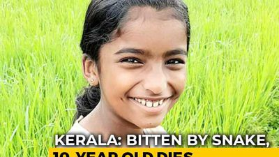 Kerala Girl,10, Dies Of Snakebite In Class, School Allegedly Ignored Injury