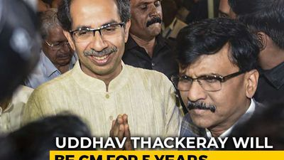 Uddhav Thackeray To Be Sena-NCP-Congress Alliance Chief Minister