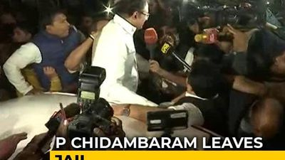 P Chidambaram, Granted Bail In INX Case, Walks Out Of Jail After 106 Days