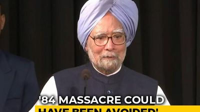 """Had IK Gujral's Advice Been Heeded..."": Manmohan Singh On '84 Riots"
