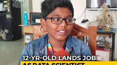 This Class 7 Student Works As A Data Scientist In Hyderabad