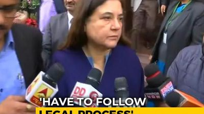 """Dangerous"": Maneka Gandhi Cautions After Telangana Accused Are Shot Dead"