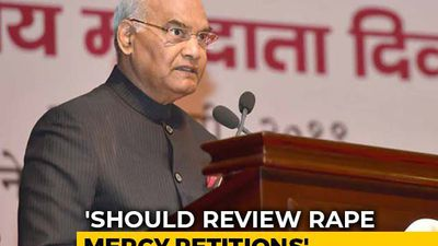 Rapists Convicted Under POCSO Shouldn't Be Allowed Mercy Plea: President