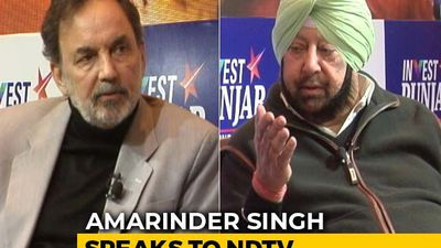 Can Drugs Be Tackled In Punjab? Amarinder Singh Speaks To Prannoy Roy
