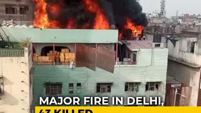 After Delhi Fire Tragedy, A Desperate Search To Find Friends, Family