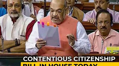 Citizenship Bill To Be Tabled In Lok Sabha Today Amid Northeast Protests