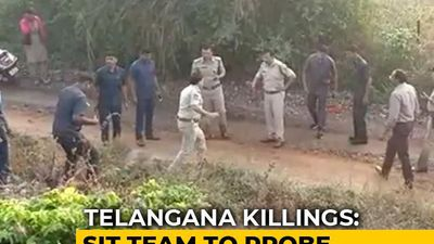 SIT To Probe Killing Of 4 Accused In Telangana Rape-Murder Case