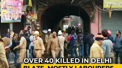 43 Dead In Delhi Luggage Factory Fire, Owner Arrested