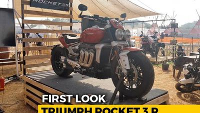 Triumph Rocket 3 R First Look