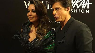 Shah Rukh Khan, Gauri Khan And Karan Johar At The Vogue Power List 2019