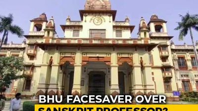 In BHU Face-Saver, Transfer For Muslim Sanskrit Professor Facing Protests