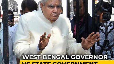 """Government Working At Pace Of Bullock Cart"": Bengal Vs Governor, Again"