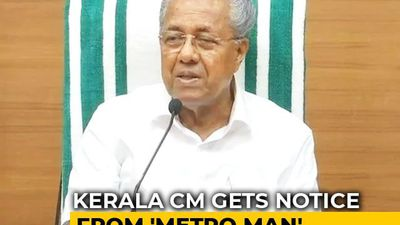 "Pinarayi Vijayan Gets Notice From ""Metro Man"" Over Move To Politicise Kerala Campuses"