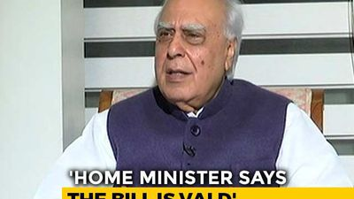 """Thank God Amit Shah Not A Judge"": Kapil Sibal On Citizenship Bill"