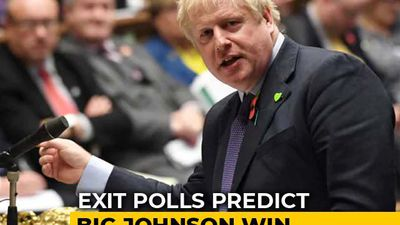 Boris Johnson's Party Takes Big Lead, Corbyn Concedes Defeat In Polls