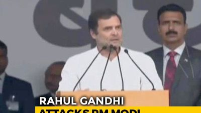 """PM Modi Has Single-Handedly Destroyed India's Economy"": Rahul Gandhi"
