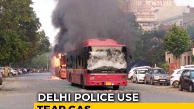 Protesters Clash With Cops In South Delhi Over Citizenship Law