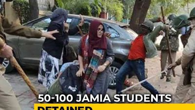 Cops Entered Campus Without Permission, Assaulted Students, Says Jamia