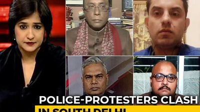 Massive Police Crackdown After Protests In South Delhi: The New Normal?