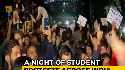 After Delhi Clashes, A Night Of Student Protests Across India