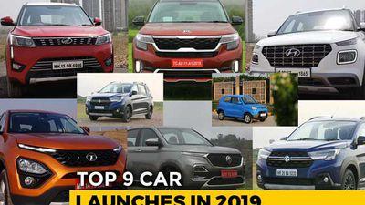 Top 9 Car Launches In 2019