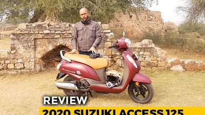 2020 Suzuki Access 125 Bs6 Review