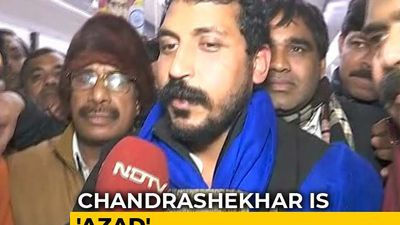 """Crime To Read The Preamble?"" Chandrashekhar Azad Released From Jail"