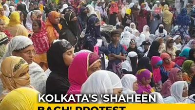 Shaheen Bagh-Like Protest In Park Circus, Kolkata