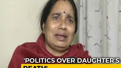 """Same People Who Held Protests..."": Nirbhaya's Mother Breaks Down"