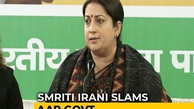 """Nirbhaya Convicts Won't Hang In Time Because Of AAP"": Smriti Irani"