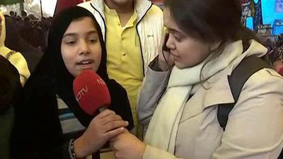At Shaheen Bagh, 12-Year-Old Talks About Meaning Of Democracy