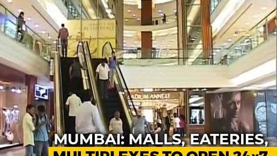 Mumbai Malls, Eateries, Multiplexes To Remain Open 24x7 From January 27