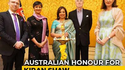 Kiran Mazumdar-Shaw Conferred With Australia's Highest Civilian Honour