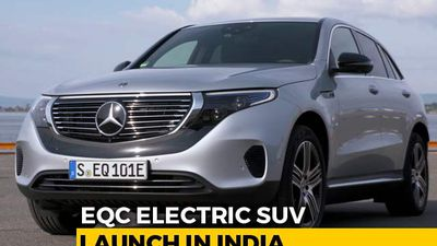EQC Electric SUV India Launch