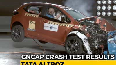 Tata Altroz Gets 5 Stars In Crash Test