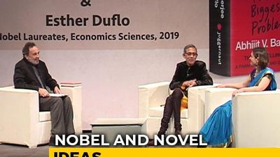 Prannoy Roy In Conversation With Nobel Laureates Abhijit Banerjee, Esther Duflo