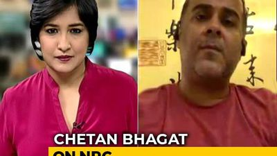 """NRC Secular, But A Secular Harassment For All"": Chetan Bhagat To NDTV"